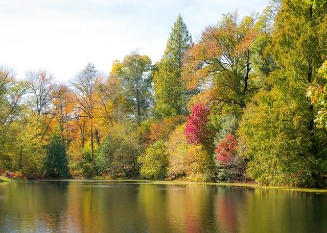 The Lake at Longwood Gardens, PA