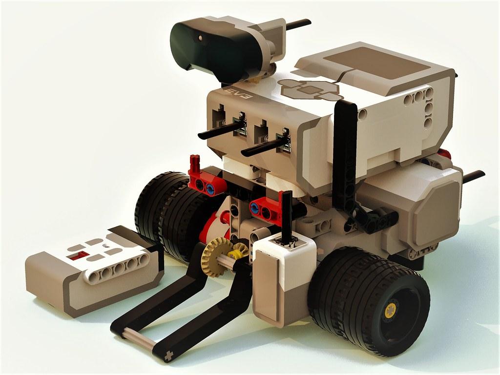 Camera Lego Mindstorm : Lego ev flipper sumobot battlebot this lego sumobot battu flickr