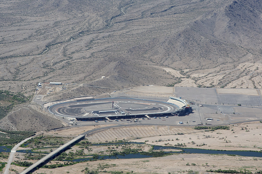 Aerial View Of The Phoenix International Raceway Avondale