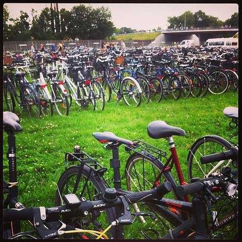 Cykel parkering #rf13 | by Simon Fredslund
