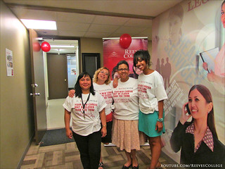 On September 5, 2013 Reeves College, Calgary City Centre Campus hosted an open house event - Staff and Faculty