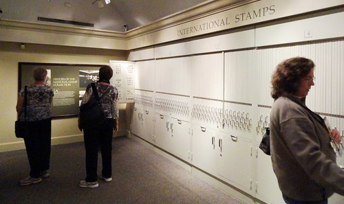 Interational Stamp Collection Mounted in Hundreds of Cases