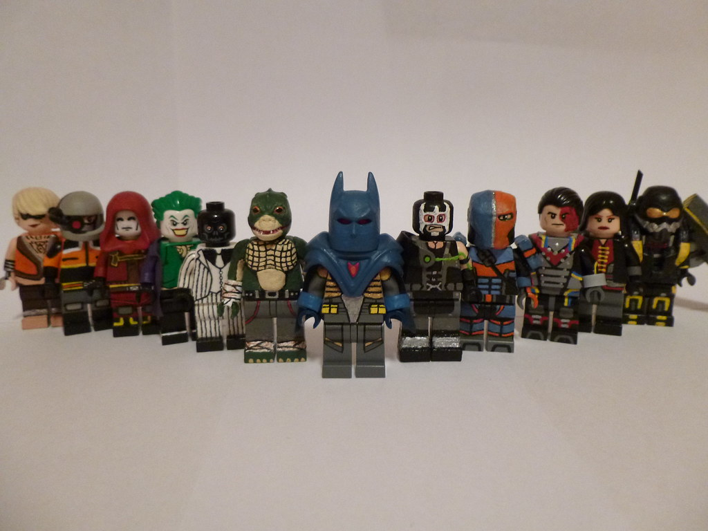 Lego batman arkham origins final groupshot by themoosefigs