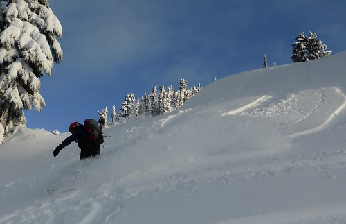 Round Mountain storm skiing | by kcxd