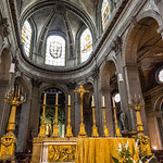 The altar of St.-Sulpice