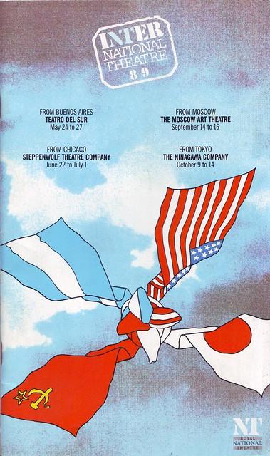 The Grapes of Wrath, by John Steinbeck (ad. Frank Galati. Dir. Frank Galati (National Theatre. 1989)
