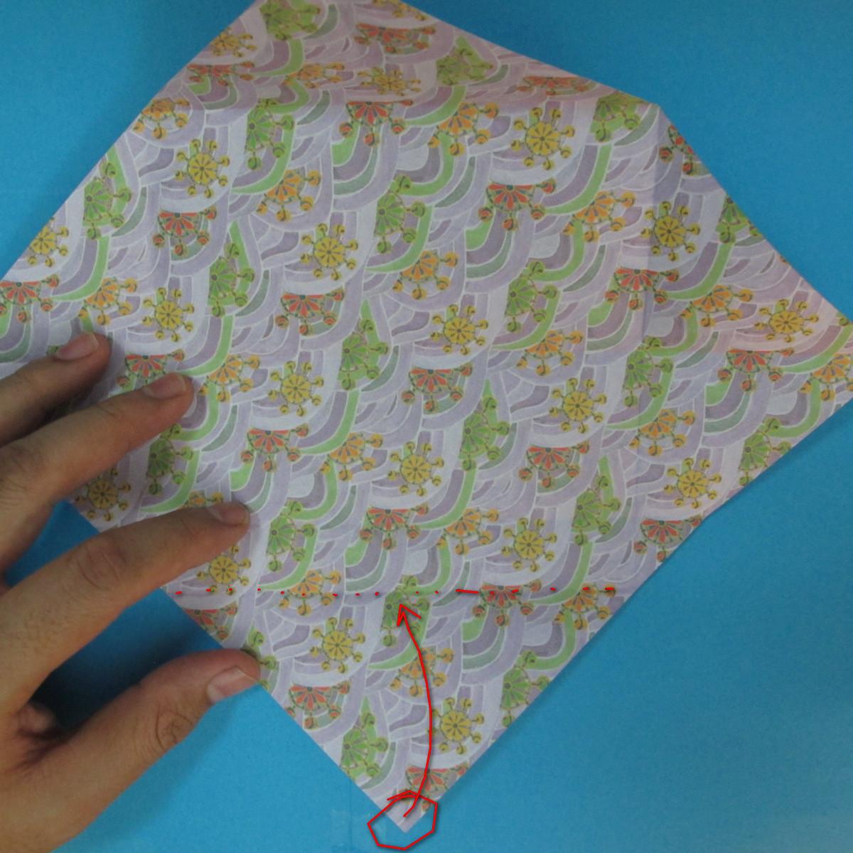 สอนวิธีพับกระดาษเป็นช้าง (แบบของ Fumiaki Kawahata) 011