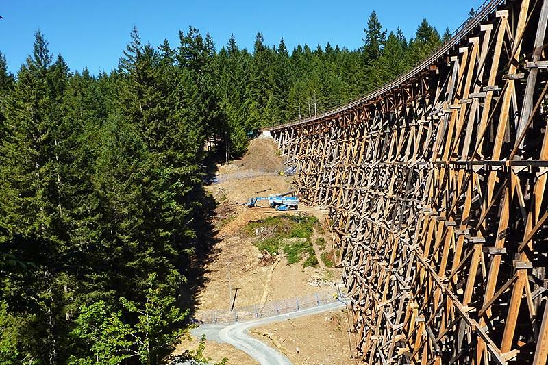 Kinsol Trestle near Shawnigan Lake, Vancouver Island, British Columbia, Canada