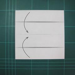 วิธีการพับกระดาษเป็นรูปกระต่าย แบบของเอ็ดวิน คอรี่ (Origami Rabbit)  001