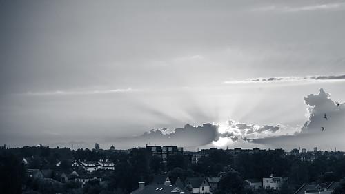 sunset summer 50mm prime nikon holidays pov pointofview nikkor riga 2014 rīga niftyfifty balconysunset saulriets nikond600 plavnieki saulrietsrīgā saulrietspilsētā