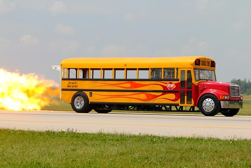Indy Boys Jet School Bus | by Elsa Blaine