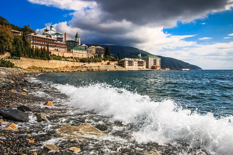 Pantelejmon Monastery, Athos