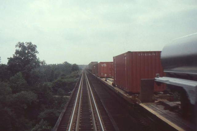 Riding Southern Crescent, 1975