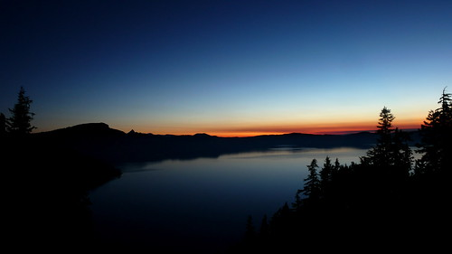 Dawn at Crater Lake | by theoelliot