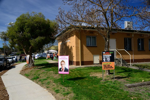 Election 2013—Electorate of Indi—Booth Chiltern  nº1