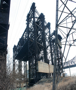 Abandoned vertical lift bridges | by repowers