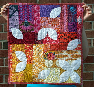 Sunrise: AMH Mini Quilt Swap | by quiltyhabit