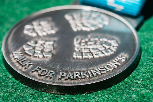 119/365 - 29 April: Walk for Parkinson's medal | by Darren W