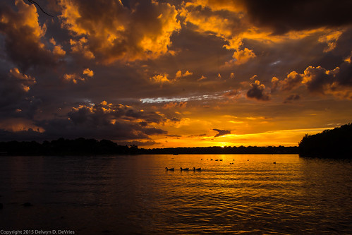 sunset tennessee wilsoncounty oldhickorylake shutesbranch