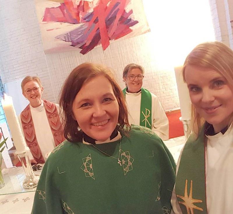 innsetningarmessa lilja kristin Kristín Þorsteinsdóttir