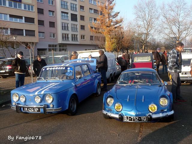 Renault R8 Gordini et Berlinette A110