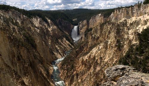 Grand Canyon of the Yellowstone   by jimbowen0306