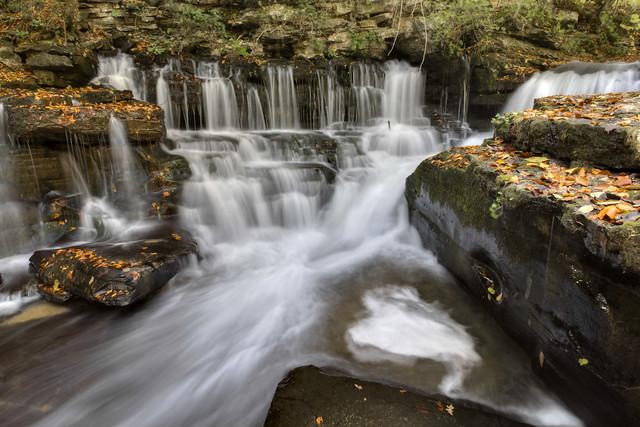 Sink Creek Falls 2, Sink Creek, Dekalb Co, TN