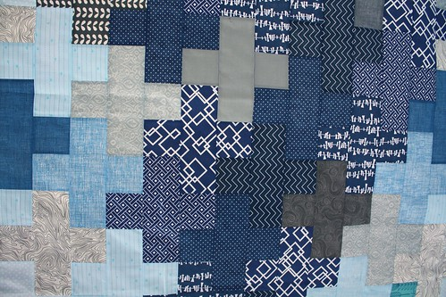 Kelsey's Manly plus Quilt Top | by Everyday Fray