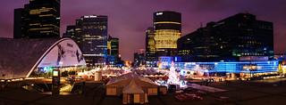 Noel Market at La Défense   by linhdevil