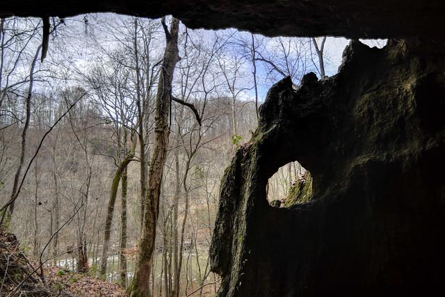 Little Falls Arch, Rock Island SP, White Co, TN