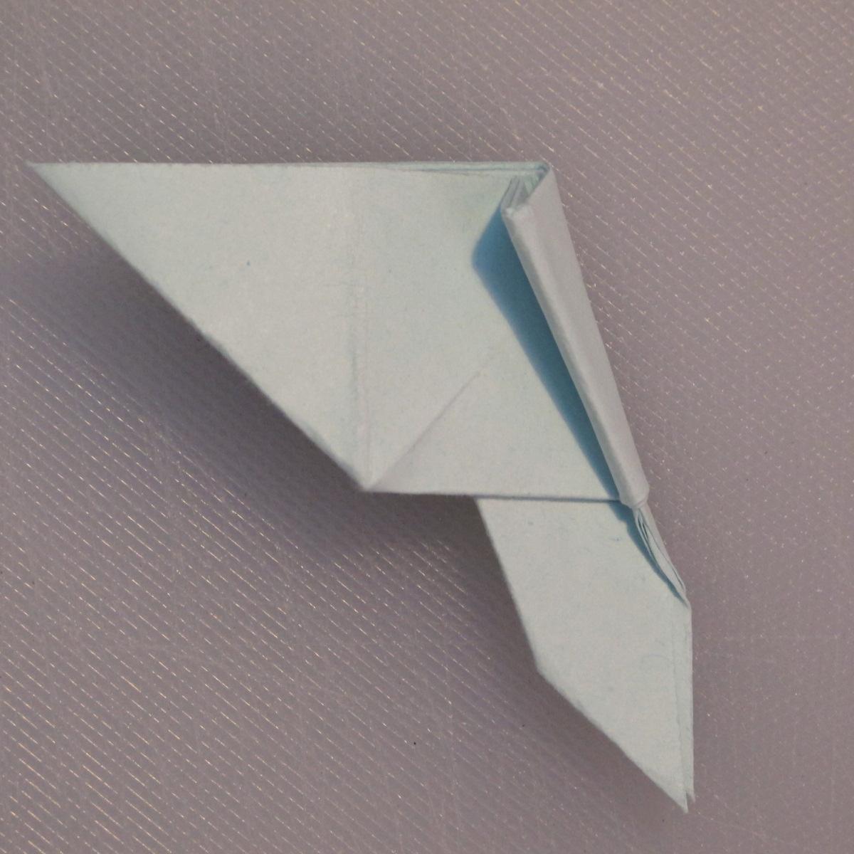 วิธีพับกระดาษเป็นรูปผีเสื้อ 016
