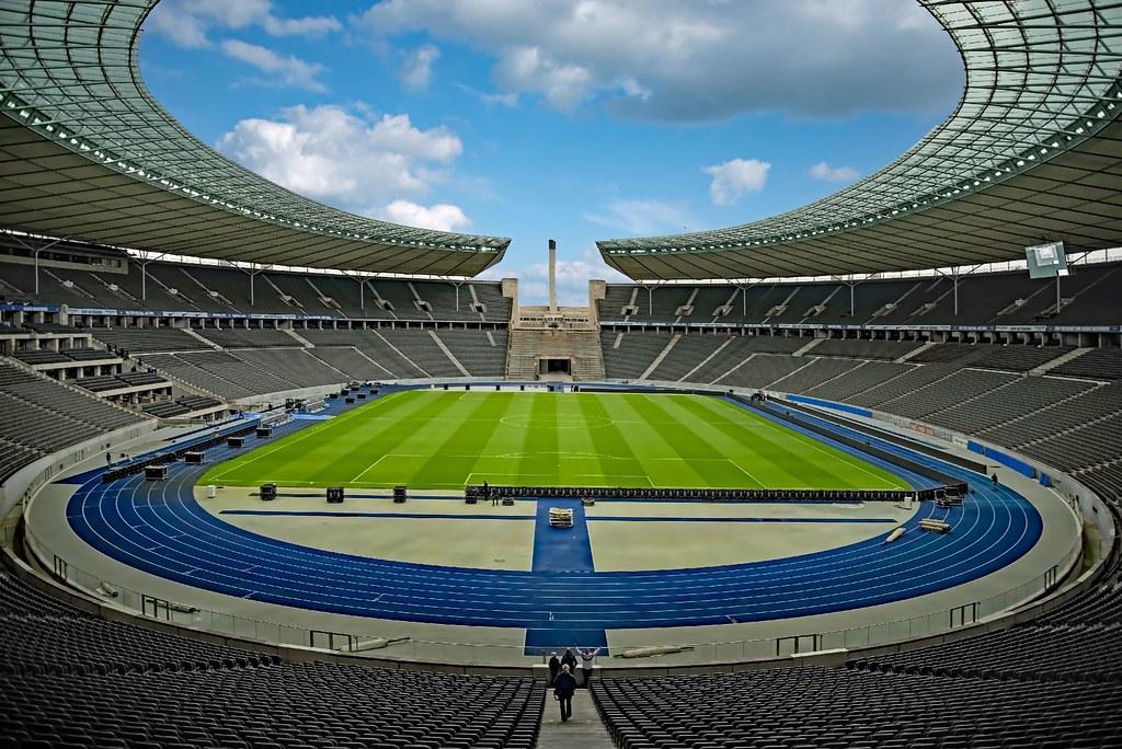 Zuschauer Olympiastadion Berlin