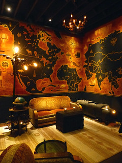 The Map Room at Pacific Seas | by The Tiki Chick