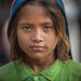 Inde: jeune nomade du Rajasthan. by Claude Gourlay