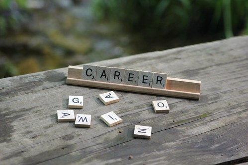 Career scrabble | by JulieWalraven