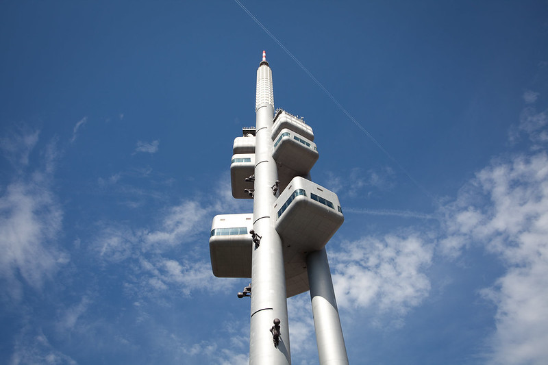 Prague's television tower