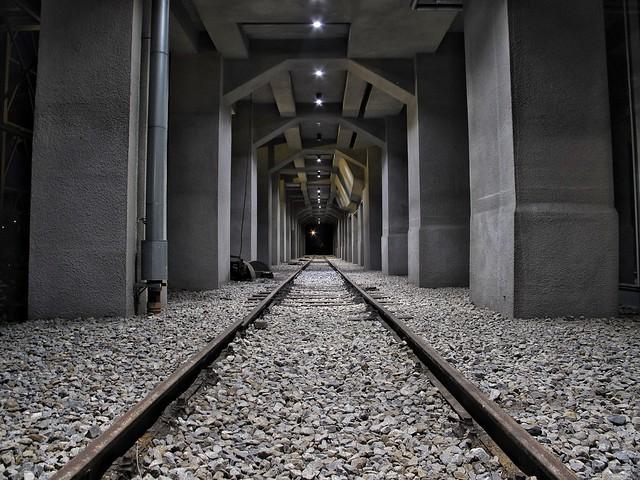 Letzte Gleise an der Kohlewäsche