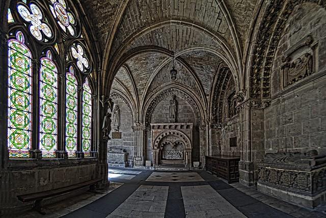 Burgos, dans un cloître