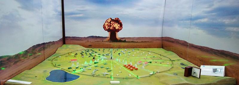 Semipalatinsk Nuclear Test Range, Model