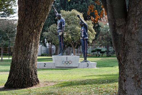 Tommie Smith - John Carlos Statue