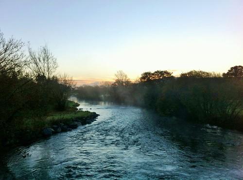 ireland beautiful misty sunrise river landscape view cork riverblackwater banteer iphone4 ilobsterit