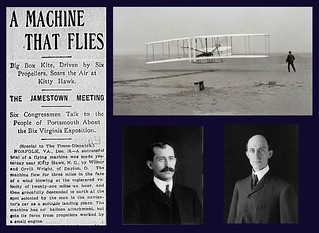 17th Decemer 1903 - The Wright Brothers | by Bradford Timeline
