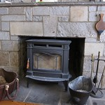 The new wood stove