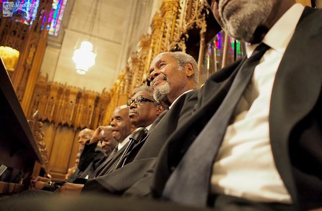 100 Men In Black at Duke Chapel