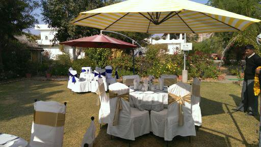 Open Area seating arrangement At Achrol Bagh