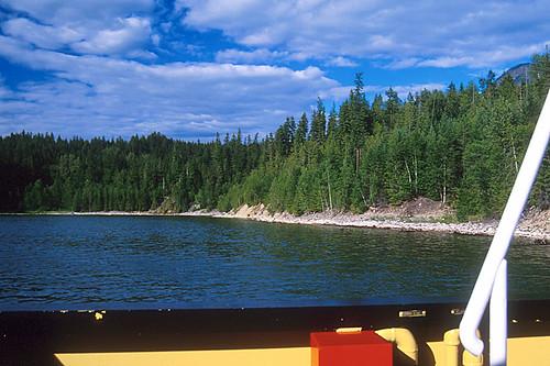 Arrow Lakes Ferry, Arrow Lakes, West Kootenays, Kootenay Rockies, British Columbia, Canada