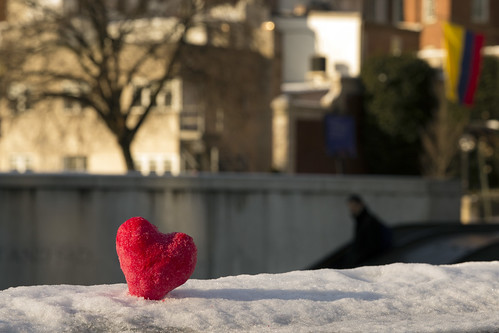 Happy Valentine's Day, Dupont Metro heart | by Lorie Shaull