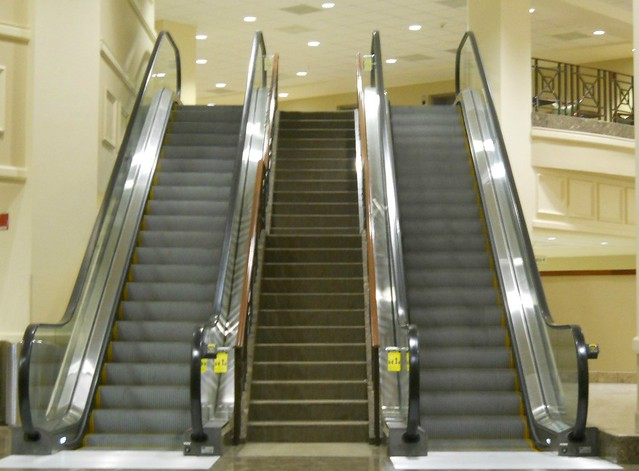 318/365:  Escalators and Stairs