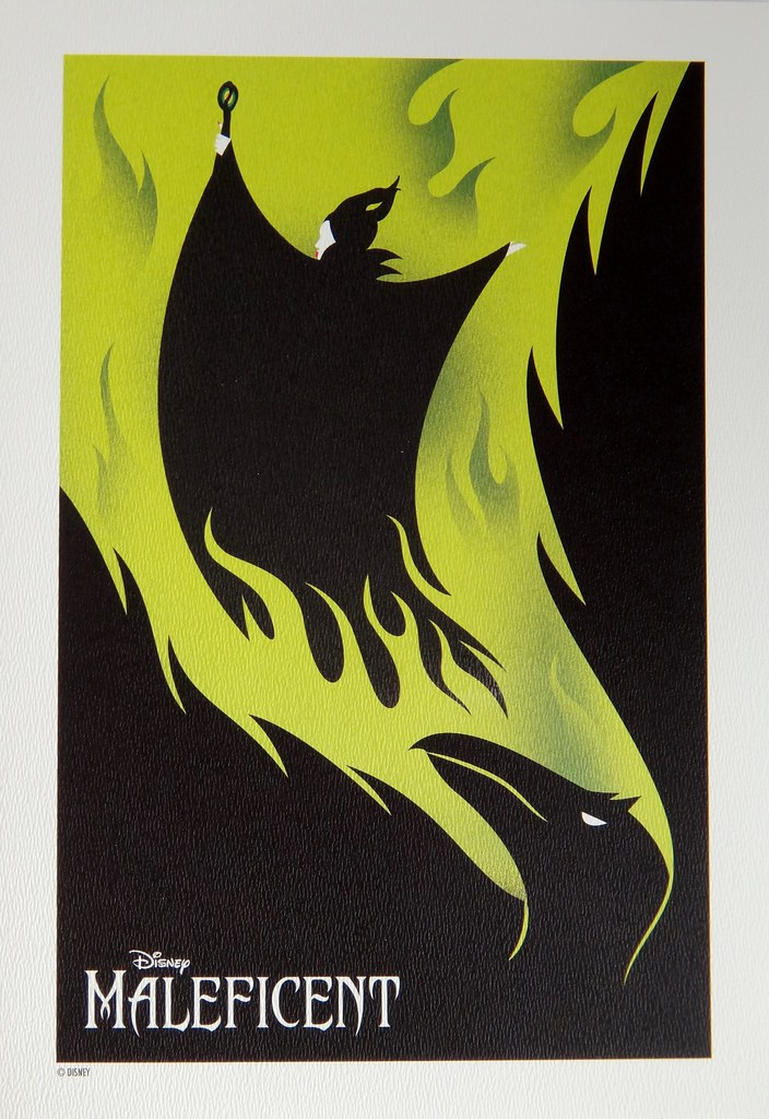 Limited Edition Maleficent Lithograph Set Us Disney Stor