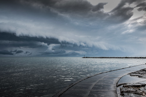 thunderstorm lakeontario hdr websterny websterpark